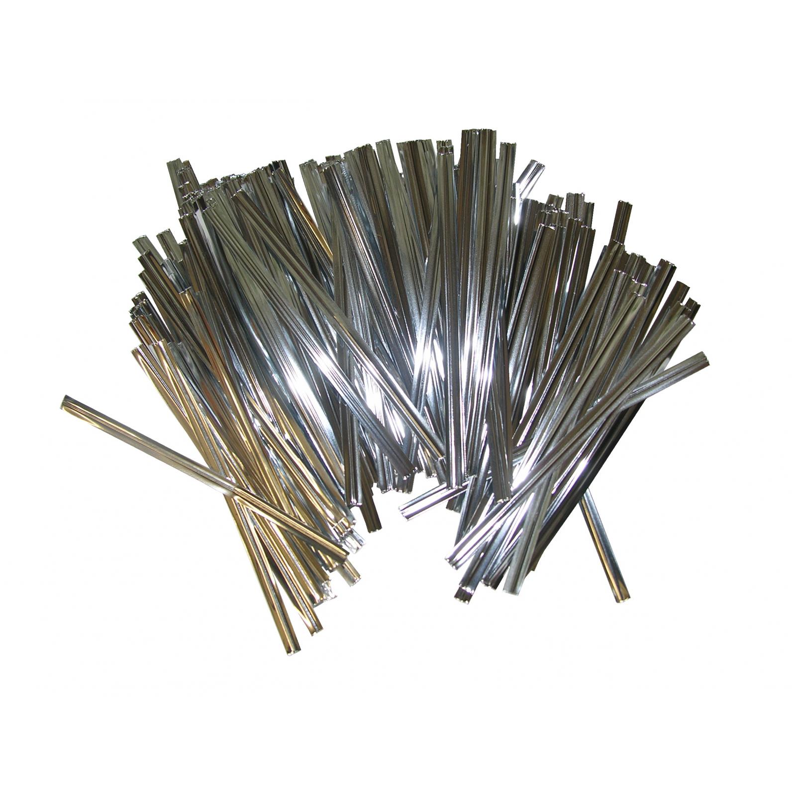 800 mini binder bindedraht verschluss f r gefrierbeutel kabel draht basteldrah ebay. Black Bedroom Furniture Sets. Home Design Ideas
