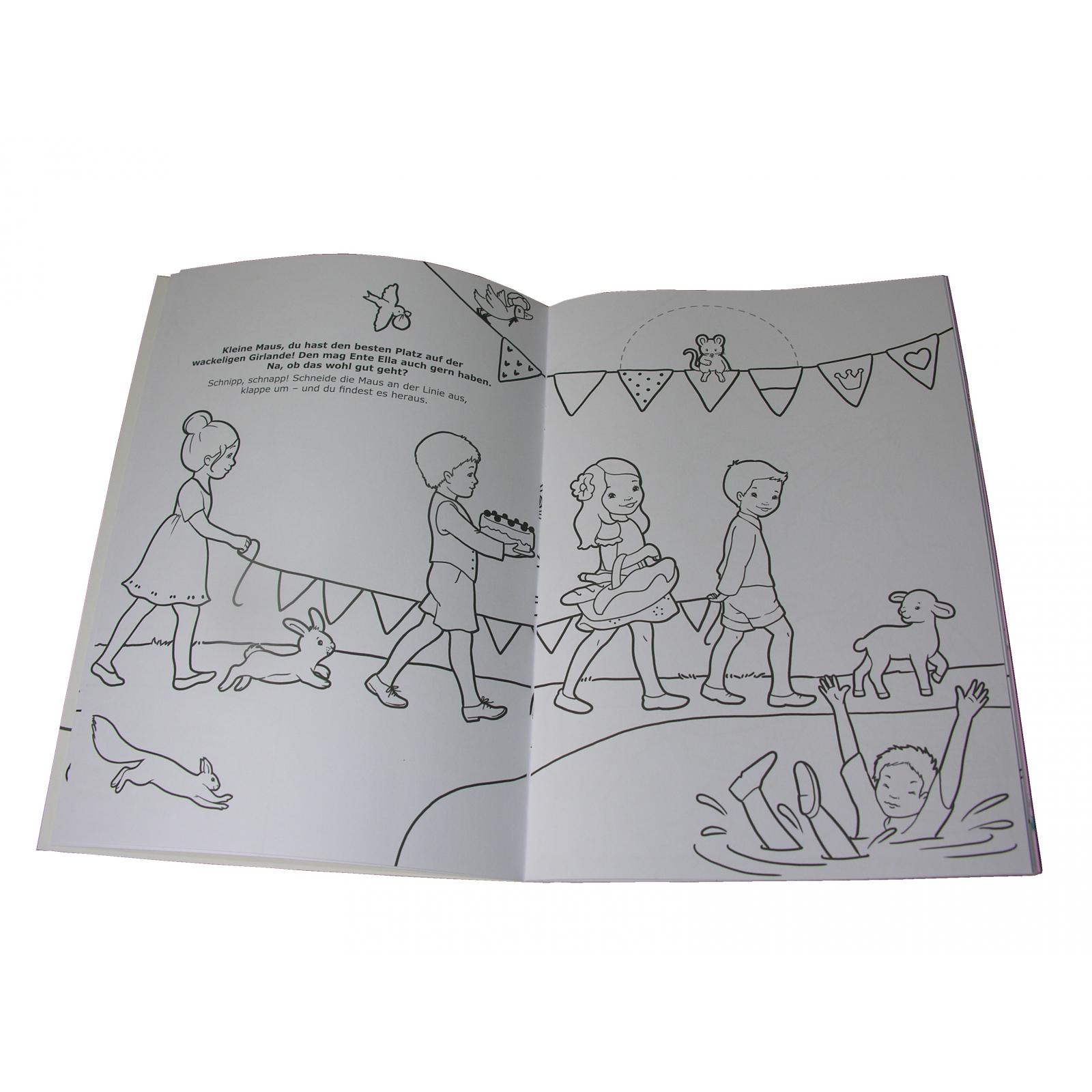 Detalles De 200 1st 10x Ueberraschungs Libro Para Colorear Princesa Mimi Niños Con