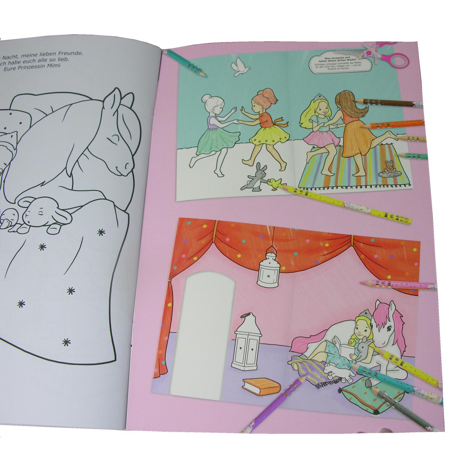 überraschungs Ausmalbuch Mit Buntstiften Filzstifte Kinder
